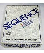 Sequence Board Game 1995 COMPLETE - $18.95