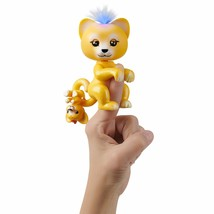 WowWee Fingerlings Light-Up Baby Lion and Mini - Sam and Leo - Interacti... - $24.98