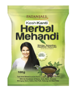 PATANJALI KESH KANTI HERBAL MEHANDI  - 100gm - $12.84