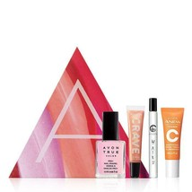 Avon Spring Ahead A-Box-Anew Vitamin C Serum/Haiku/Crave Lip Gloss/Nail ... - $16.48