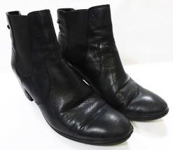 Anne Klein women 10M ankle boots booties black - $24.58