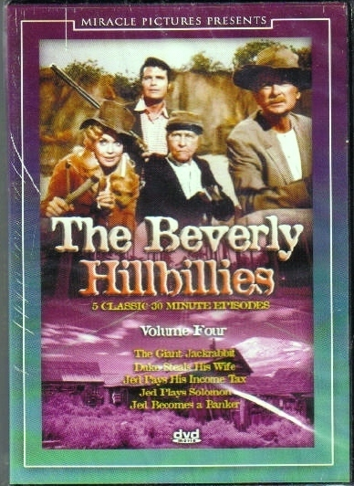 Beverly Hilllbillies Vol 4 new never opened