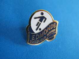 EDMONDS SOCCER CLUB Lapel Pin Tie Tac Hat Pin BURNABY BC. British Columbia  - $5.95