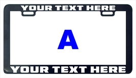 Design your own Bugatti custom personalized license plate frame holder tag - $6.99