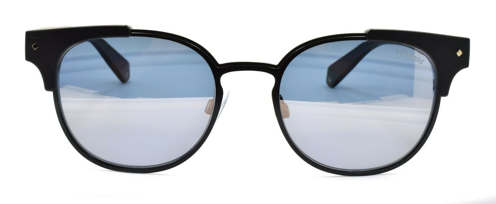 Polaroid PLD 6040/S/X 003LM Men's Sunglasses Polarized 52-19-140 Black Mirrored
