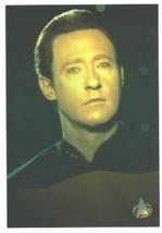 Star Trek Commander Data  Next Generation Real Photo Postcard  - $7.99