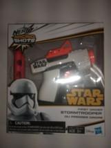 Nerf MicroShots #03 Star Wars First Order Stormtrooper 2-Dart Blaster Hasbro NEW - $11.64