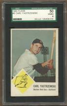 1963   FLEER   CARL  YASTRZEMSKI   # 8     SGC  50   !! - $49.99