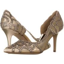 Badgley Mischka Marissa D'Orsay Heels 247, Ivory, 6 US - $91.19