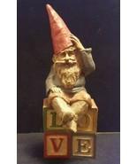 Tom Clark 1984 Gnome SPOCK Vintage Figurine LOVE Statue Retired - $58.22