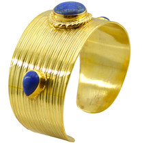 enticing Multi Gemstone Gold Plated Multi Bangle Natural usually US gift - $20.68
