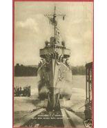 Bath Me Postcard Iron Works US Destroyer Ship 430 BJs - $7.50