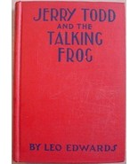 Jerry Todd and the TALKING FROG Leo Edwards mystery - $20.00