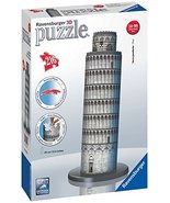 Ravensburger Leaning Tower of Pisa 216 Piece 3D Jigsaw Puzzle for Kids a... - $22.42