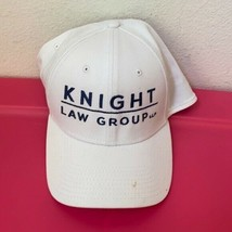 New Era Knight Law Group White Adjustable Hat - $79.16