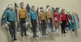 Star Trek Action Figures 1991 Hamilton SET of 9 from Original Star Trek Series - $349.99