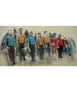 Star Trek Action Figures 1991 Hamilton SET of 9 from Original Star Trek ... - $349.99