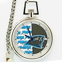 Carolina Panthers Pocket Watch, Mans NFL Fossil Vintage Unworn And Rare 1997 $89 - $87.96