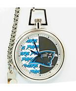 Carolina Panthers Pocket Watch, Mans NFL Fossil Vintage Unworn And Rare ... - $87.96