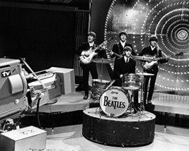 The Beatles performing on stage Top of the Pops studio London 1966 16x20... - $69.99