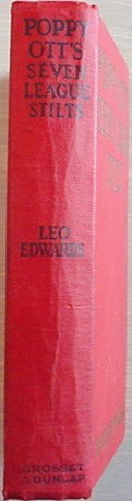 Poppy Ott's SEVEN LEAGUE STILTS Leo Edwards 1930 HC