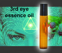 Free W $25 Haunted 27x Essence 3rd Eye Opening Psychic Intuition Oil Magick - $0.00