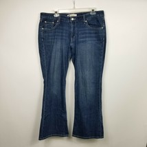 Levis 518 Womens Jeans Sz 13 S Super Low Bootcut 35x29 Stretch Medium Wa... - $25.19