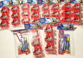 Paw Patrol Easter Basket Eggs & Stationary Set Marshall Chase Huge Lot - $29.09