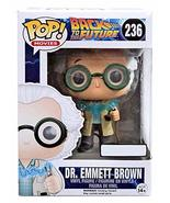 October 2015 Time Travel Exclusive Funko Pop #236 Back To The Future Dr.... - $13.10