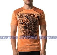 Affliction URSA Major Dusk A20414 Short Sleeve Fashion Graphic T-shirt For Men - $53.84+
