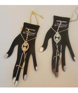 Bracelet ring hand chain ball chain wearable je... - $8.99