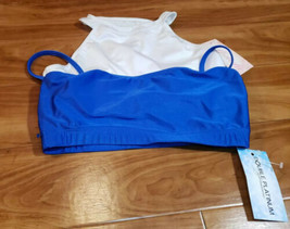 Lot of 2 dancewear Bra's size  XL New With Tags - $18.70