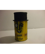 Vintage Planters Mr Peanuts Tin Can Collectible With Top Hat 8.5 Inches ... - $17.82