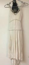 Tenth House Cream Beige Lyrical Dance Costume AM Adult Medium With Stones - $33.16