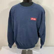 VIntage Champion Reverse Weave Sweatshirt Warm Up Jumper Crew Neck Navy ... - $39.99
