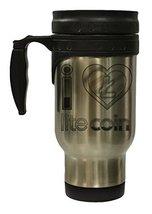 I Love Litecoin 12 oz Hot/Cold Travel Mug - $16.78