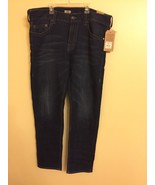 TRUE RELIGION ACTIVE JEAN - GENO PANTS RELAXED SLIM W38 FOR MEN - $94.05