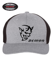 DEMON DODGE SRT Trucker Cap FLEXFIT HAT *FREE SHIPPING in BOX* - $19.99
