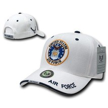 White United States Air Force Usaf Officially Licensed Baseball Cap Hat - $39.99