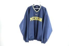 Vintage Nike Mens 2XL Travis Scott Center Swoosh University of Michigan ... - $89.05