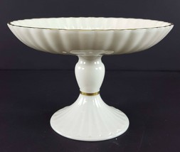 "LENOX China Holiday Dimension Round Compote Pedestal 5"" x 7-1/4"" Dinnerware image 2"