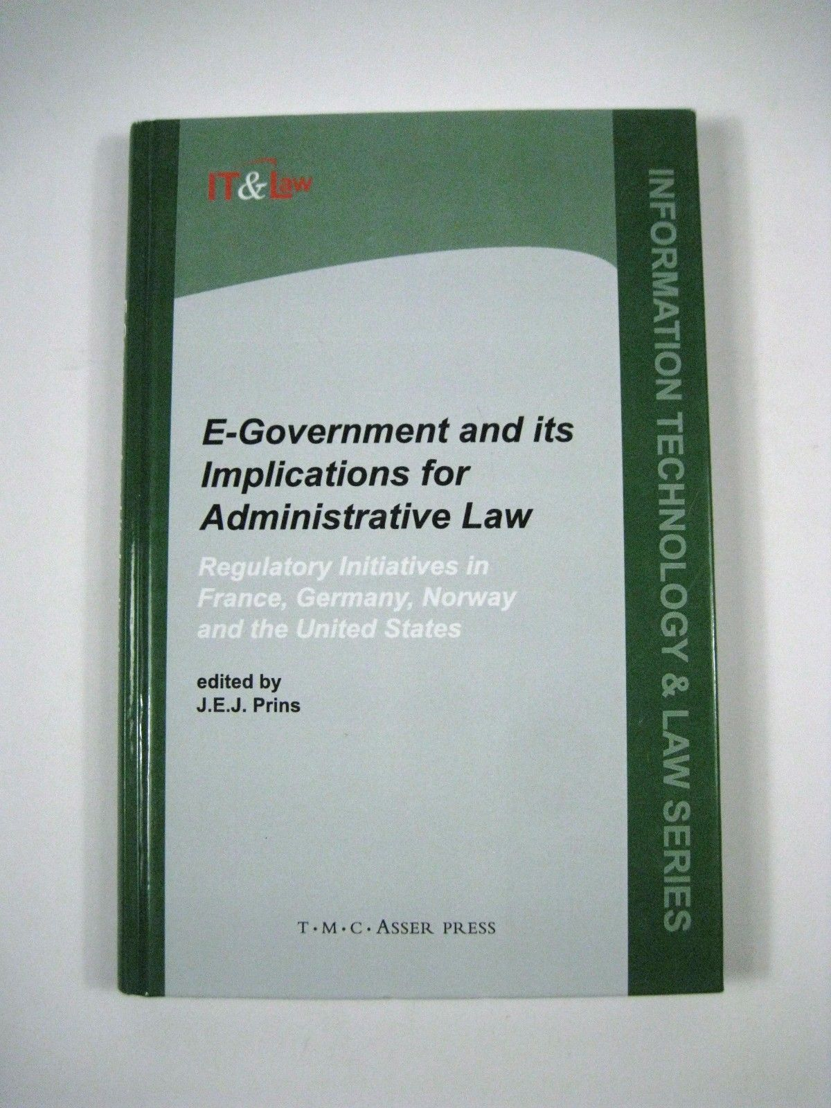 E-Government Implications Administrative Law Volume 1 Regulatory 2002 Hardcover