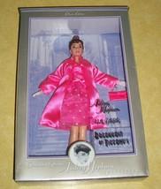 1998 AUDREY HEPBURN BARBIE BREAKFAST AT TIFFANY'S PINK SATIN GOWN ELEGAN... - $69.70