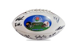 2015 Stanford Cardinal team signed football w/Certificate autographed (45) - $203.94