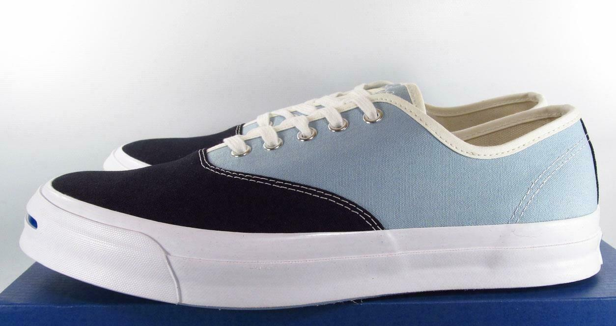 Converse Jack Purcell Signature Series CVO Ox Two-Tone BLUE/GRAY 151455C 9.5 MEN