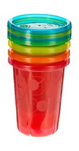 The First Years Take & Toss Spill Proof Straw Cups, 10 Ounce, Pack of 4 4-Pack - $5.09