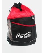 Coca-Cola Drawstring Beach Bag with Shoulder Strap and Top Handle - BRAN... - $14.85