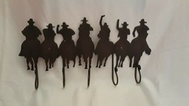 "Metal Cowboys ""Posse"" Wall Mounted Coat Rack  - $19.26"