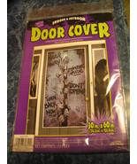 Indoor & Outdoor Enter If You Dare Zombie Door Cover 30 In. X 60 In. Hal... - $6.88