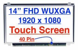 B140HAK01.0 W/Touch for Lenovo ThinkPad T470 FHD IPS LCD screen 00NY420 ... - $139.99